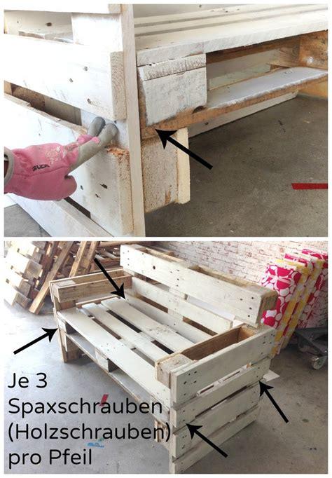 paletten möbel bauen bauen k 252 che bank
