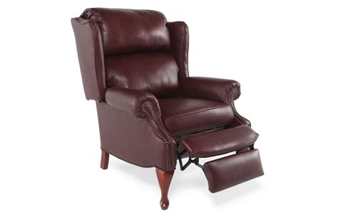 lane leather recliner chair lane savannah leather recliner mathis brothers furniture