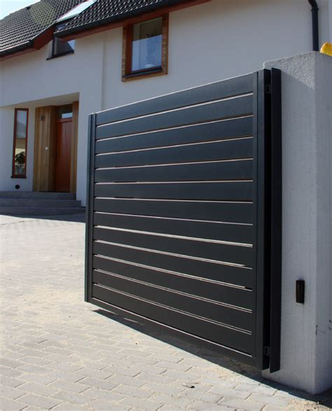 arete horizon contemporary home fencing and gates