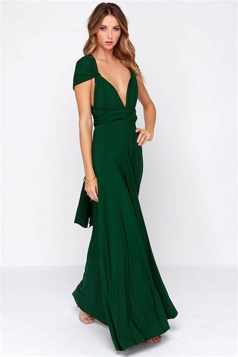 Farest Maxi 1 tricks of the trade forest green maxi dress beautiful