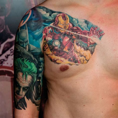 marvel tattoos designs ideas and meaning tattoos for you