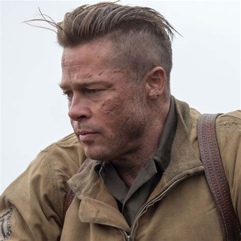 army haircut fury 25 best ideas about brad pitt fury haircut on pinterest