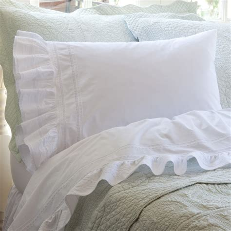 eastern king bed sheets elisa egg shell white eastern king sheet set traditional