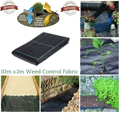 Landscape Fabric Ebay 2m X 10m 100g Ground Cover Membrane