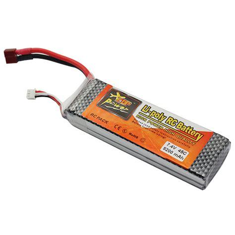 7 4 V 5200 Mah Lipo Battery aliexpress buy 5pcs 7 4v 5200mah lipo battery 2s 45c