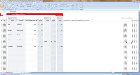 income tracker expense tracker home ambrosia malbrough