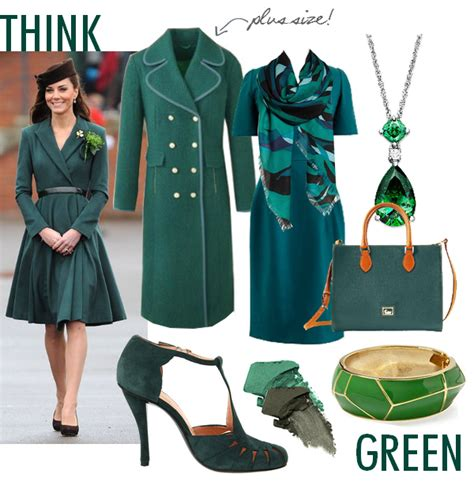 Fashion Goes Green by Green Color Fashion Trend 2013 Work Style Workchic
