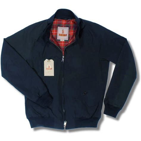 Jaket Harrington Jaket Harrington Murah Blue Navy the all new baracuta g9 mod slim fit harrington jacket