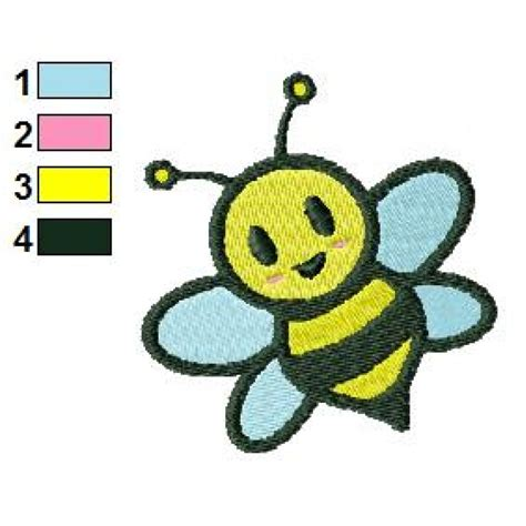 free design free bee 05 embroidery design