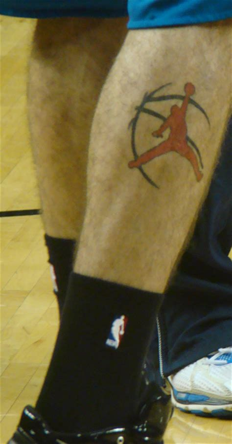tattoo logo jordan dominique jones nba logo tattoo nba 24 7 365