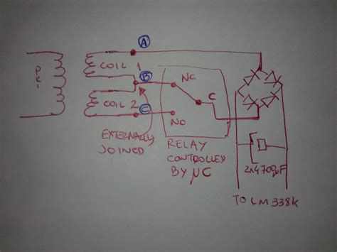 resistor in series with transformer power supply transformer coils in series switching for 12 24v emf killing my circuit