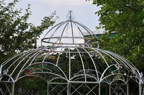 stabiler gartenpavillon stabiler pavillon verzinkt pergola zink 216 290cm gartenpavillon