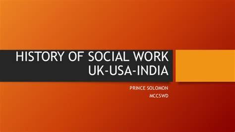 Mba Social Work Uk by Origin Of Social Work In Uk Usa India