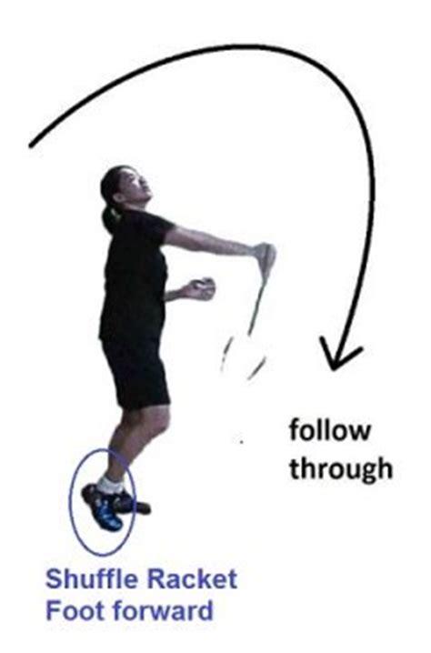 Swing Arm Smash forehand badminton smash techniques for executing a smash tips for smashing