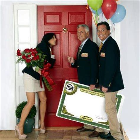 Publishers Clearing House Model - knock knock the rose reports