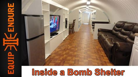 How Much Do Prefab Homes Cost inside a bomb shelter with atlas survival shelters by