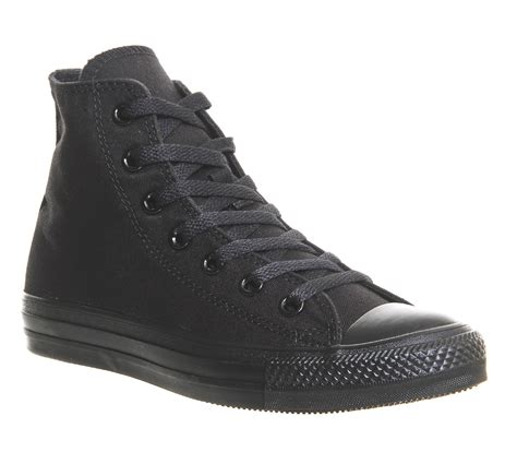 Converse Sport Black converse all hi black mono canvas unisex sports