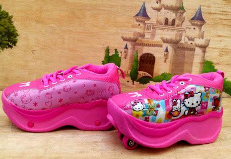 Sepatu Anak Remaja Katakter sepatu roda anak karakter