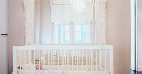 That Is A Nursery And That Is An Oversized Mirror Placed Baby Crib Mirror