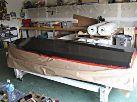 graphite boat bottom paint boat in a box tutorial finishing bateau2