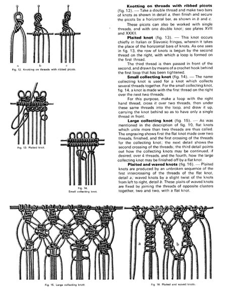 Free Macrame Patterns Pdf - digital archive of documents related to macrame