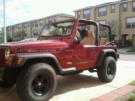 1998 Jeep Wrangler Se Purchase Used 1998 Jeep Wrangler Se Sport Utility 2 Door 2