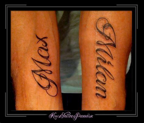 tattoo letters kind schaduw kim s tattoo paradise