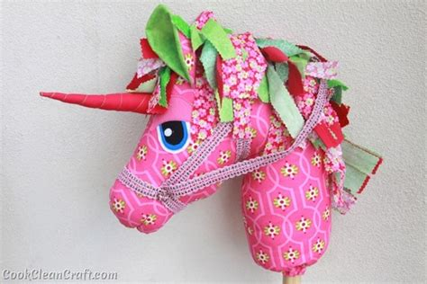 unicorn craft pattern woooie hobby horse unicorn cook clean craft