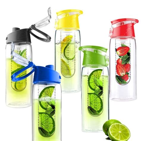 Tritan Water Bottle 2 Botol Minum Infus Buah Generasi 2 botol minum tritan new tritan infused water bottle 2nd generation elevenia