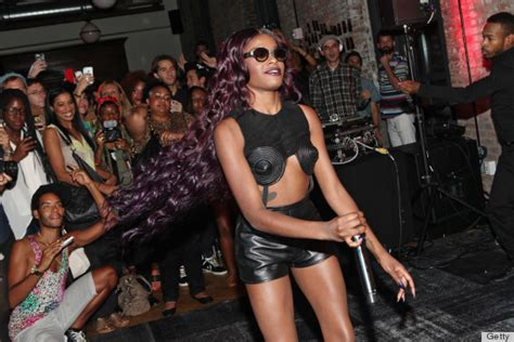 azealia banks dons a romper at spin refinery29