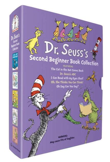 Dr Seuss S Second Beginner Book Collection By Dr Seuss Random House Hardcover Barnes