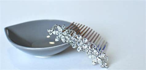 Vintage Inspired Wedding Hair Combs by Vintage Inspired Bridal Hair Comb Swarovski Hair Comb