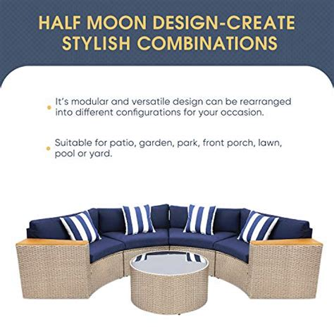 solaura outdoor  piece sectional furniture patio