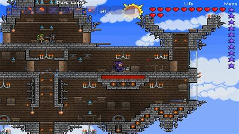 Watch Floating Castle 2012 Terraria Floating Castle Youtube