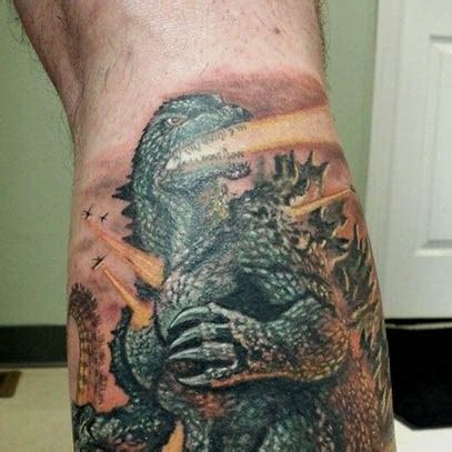 underbutt tattoos godzilla tattoos designs ideas and meaning tattoos for you
