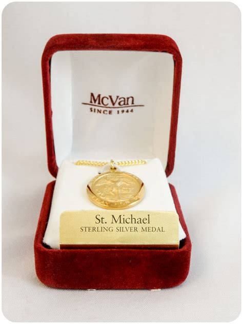 St Mikes Detox by Michael Gold Plated Medallion Tex Mex Curios