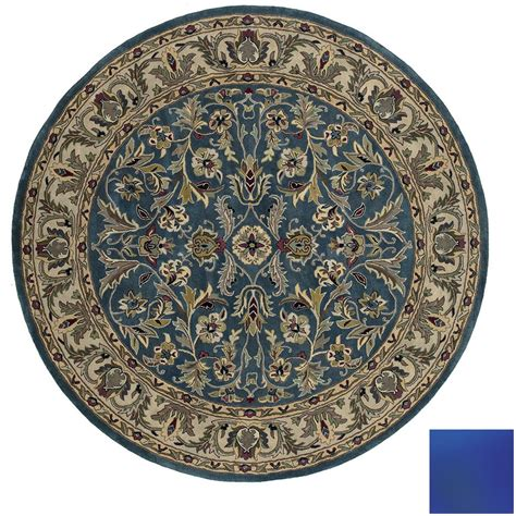 Shop Kaleen Mystical Garden Round Multicolor Transitional 10 Foot Area Rugs