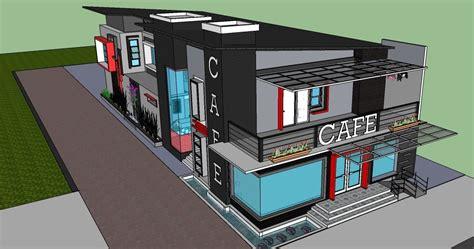 fungsi layout area desain rumah cafe poenyalya