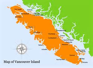 basic map of the vancouver island for your next fishing