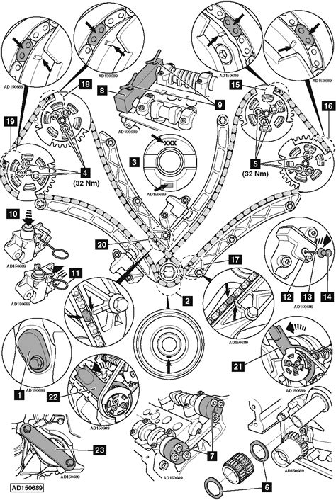 replace timing chains  land rover discovery iv   awd