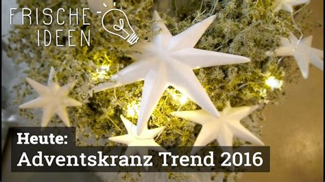 Adventskranz 2015 Modern by Adventskranz Trend 2016