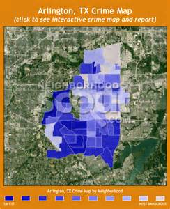 Crime Map Dallas by Arlington Tx Crime Rates And Statistics Neighborhoodscout