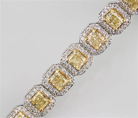Fancy A Martini With In Bracelet by St2917 Fancy Yellow With Diamonds