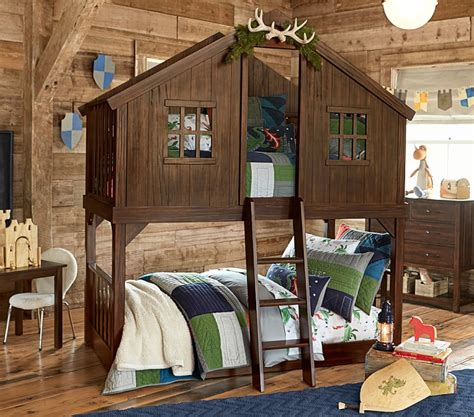 treehouse twin loft bed tree house twin over twin bunk bed goodglance