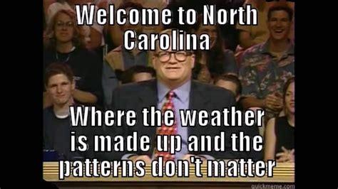 North Carolina Meme - nc winter memes north carolina funny youtube