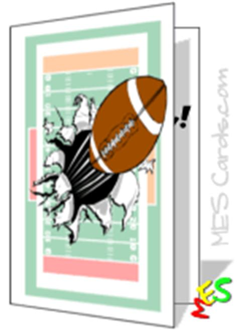 football birthday card template cards to personalize and print classic football helmet