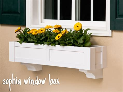 pvc window box the direct mount window box estate collection