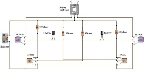ac dc inverter 12v to 220v wiring diagram dc wiring