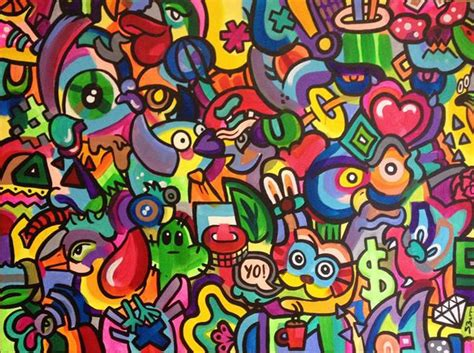 colorful graffiti steph burr paintings painting colorful graffiti