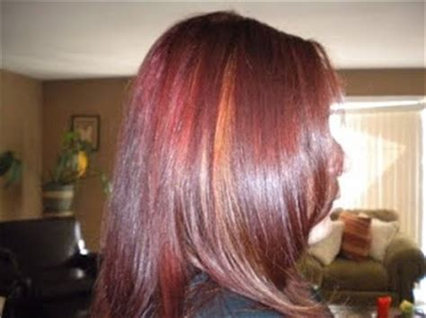 burgundy hair with caramel highlights burgundy hair with caramel highlights my style